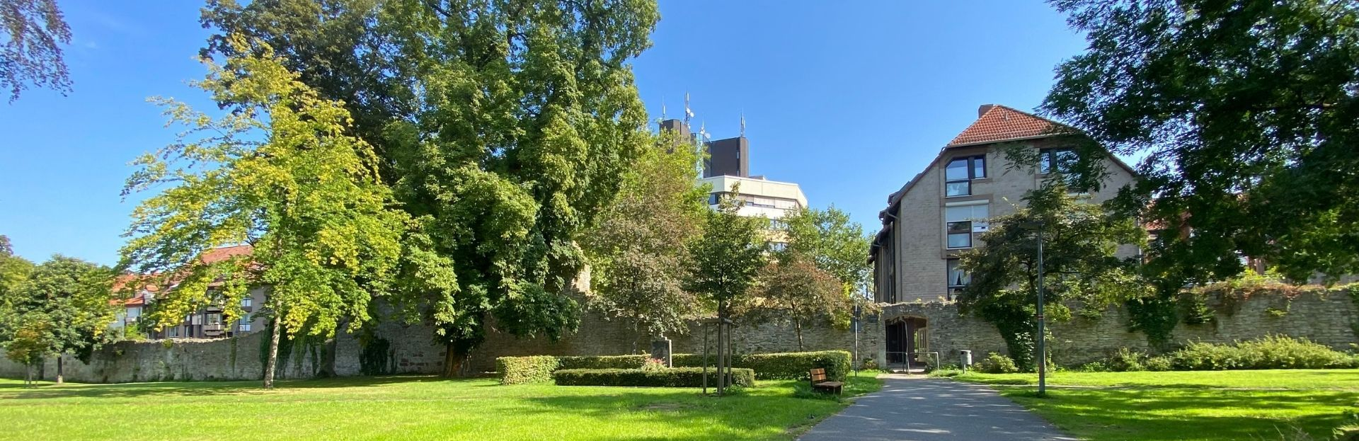 Kreishaus im Sommer Titelbild