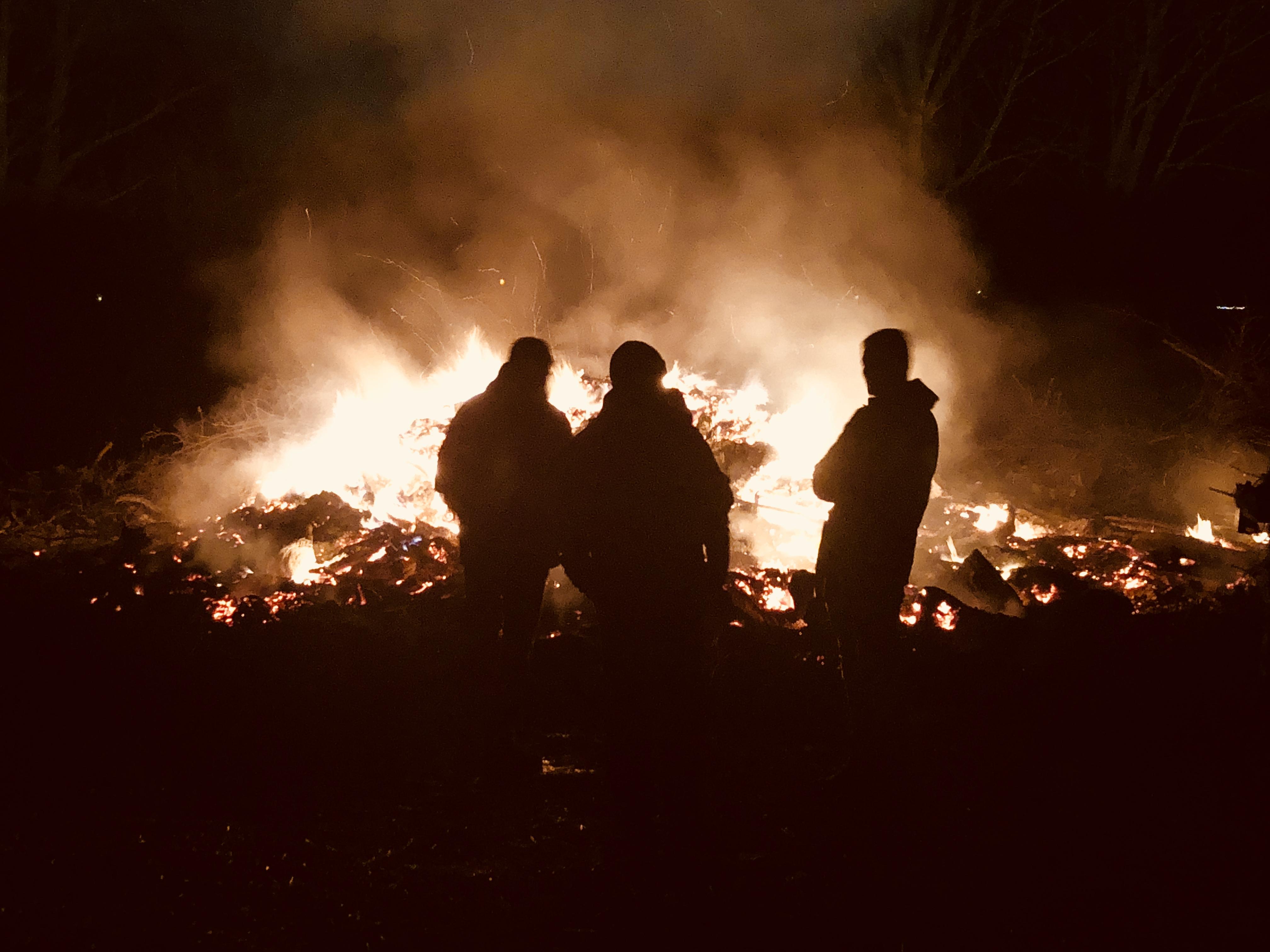 078/2020 - Veranstalter von Osterfeuern müssen sich an